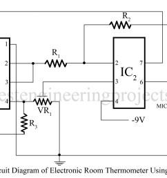 741 op amp circuit diagram [ 1200 x 845 Pixel ]
