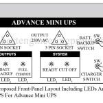 Advance Mini UPS