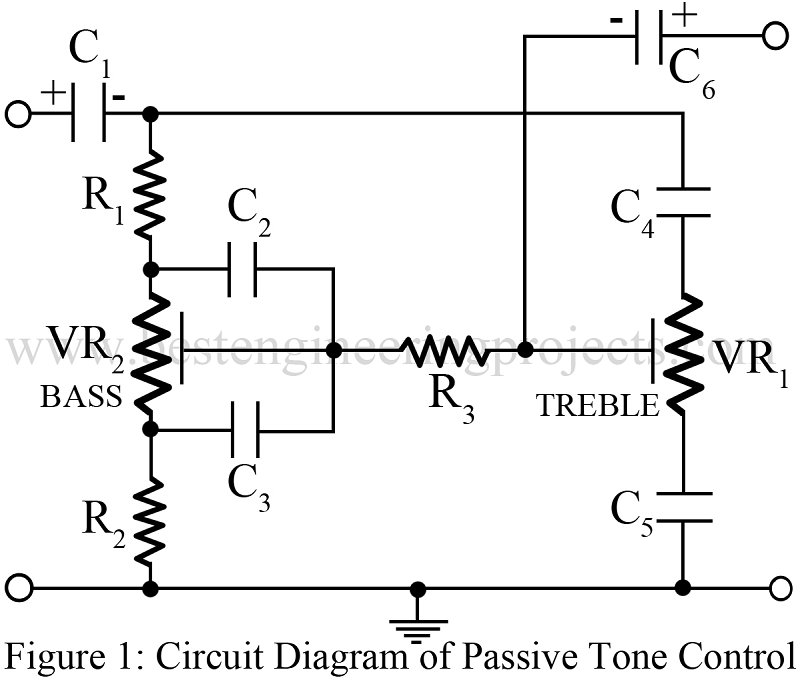 [DIAGRAM MY_3424] Tone Control Circuit Using Opamp And A