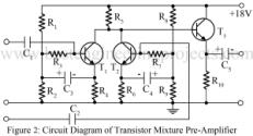 audio mixture circuit using bc148b