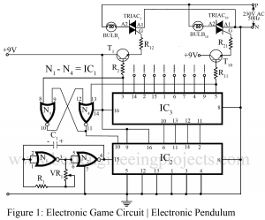electronics game project