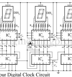 7 segment logic diagram wiring library house wiring diagrams 24 hour digital clock and timer circuit [ 1600 x 764 Pixel ]