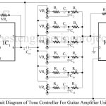 Tone Control for Guitar Amplifier Using 741