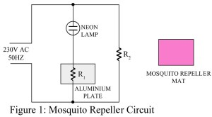 circuit diagram of mosquito repeller
