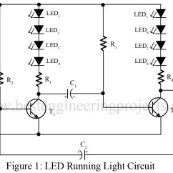 Led Wiring Diagram 9v 2008 Impala Stereo Running Light Circuit Free For You Engineering Projects Rh Bestengineeringprojects Com 10