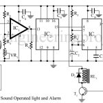 Sound Operated Light and Alarm