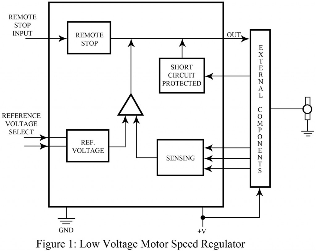 Low Voltage Motor Speed Regulator