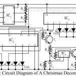 Christmas Decoration Circuit With Music