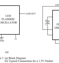 led flasher circuit best engineering projects [ 1200 x 732 Pixel ]