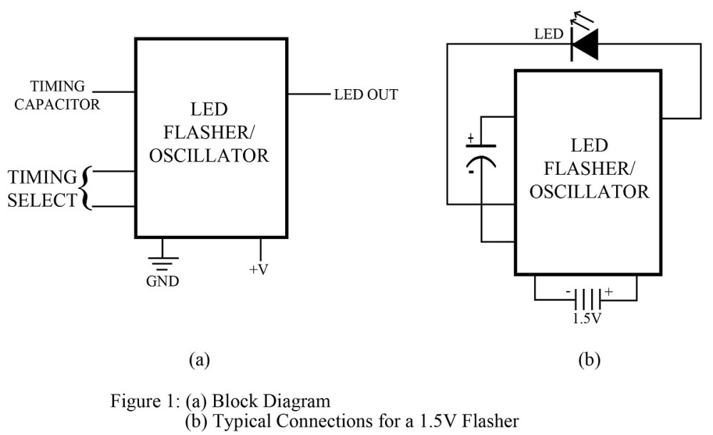 medium resolution of led flasher circuit best engineering projects
