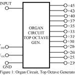 Organ Circuit | Top Octave Generator