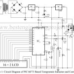 PIC16F73 Based Temperature Indicator and Controller