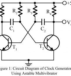 clock pulse generator using astable multivibrator [ 1024 x 923 Pixel ]