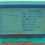 GPS Navigator Circuit using ATmega 16