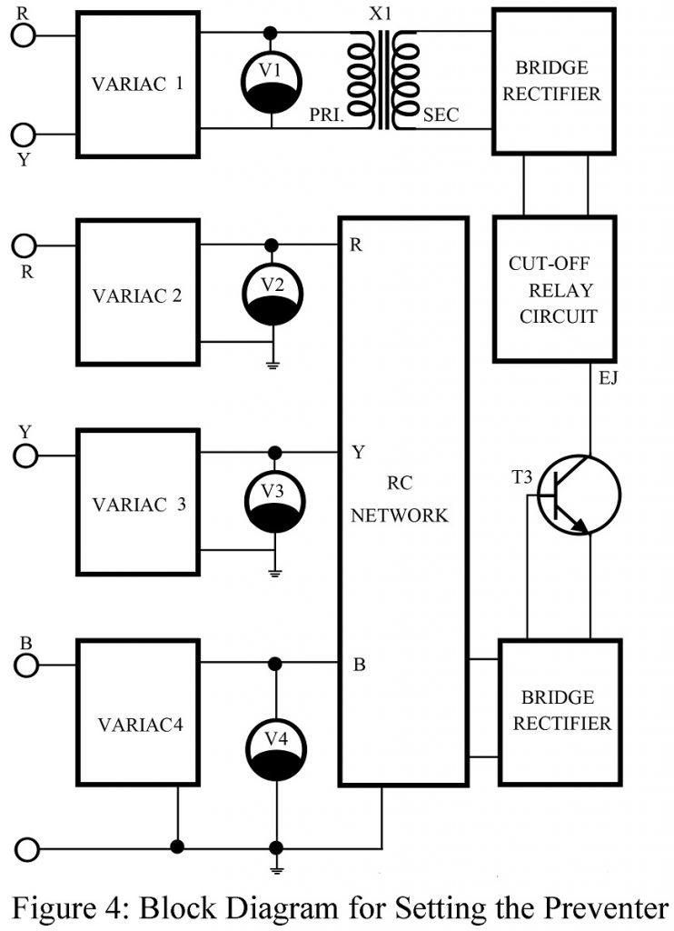 Single Phasing Preventer Circuit