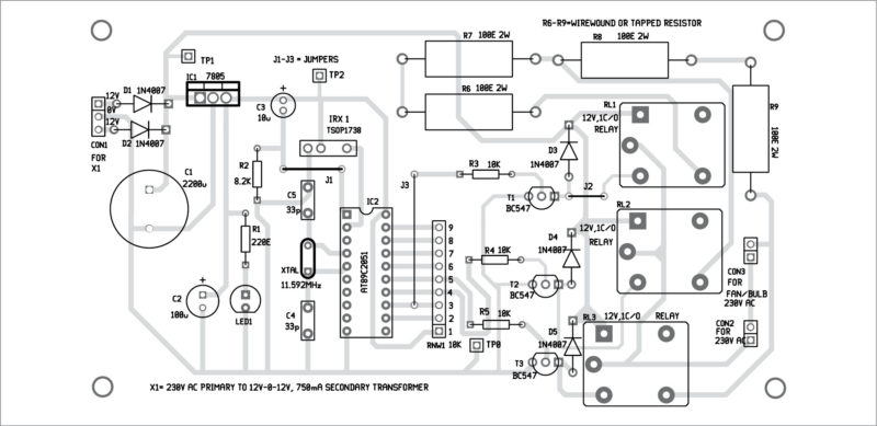PDF) Remote Controlled Fan Regulator With Timer
