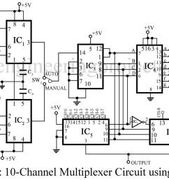 8 1 multiplexer circuit diagram [ 1200 x 856 Pixel ]