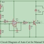 Auto Cut for Manual Stabilisers using 741 IC