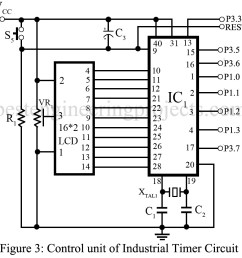 industrial timer circuit engineering projects transistor timer circuit diagram on industrial timer relay circuit [ 975 x 973 Pixel ]