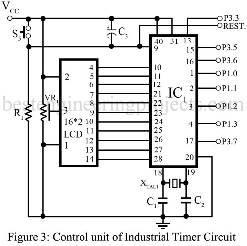 small resolution of industrial timer circuit engineering projects transistor timer circuit diagram on industrial timer relay circuit