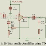 20-Watt Audio Amplifier using TDA2003