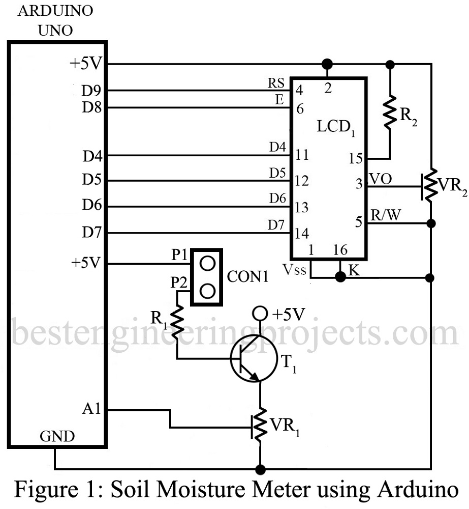 medium resolution of soil moisture meter using arduino best engineering projects arduino thermistor circuit arduino humidity sensor circuit diagram