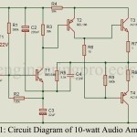 10-Watt Audio Amplifier