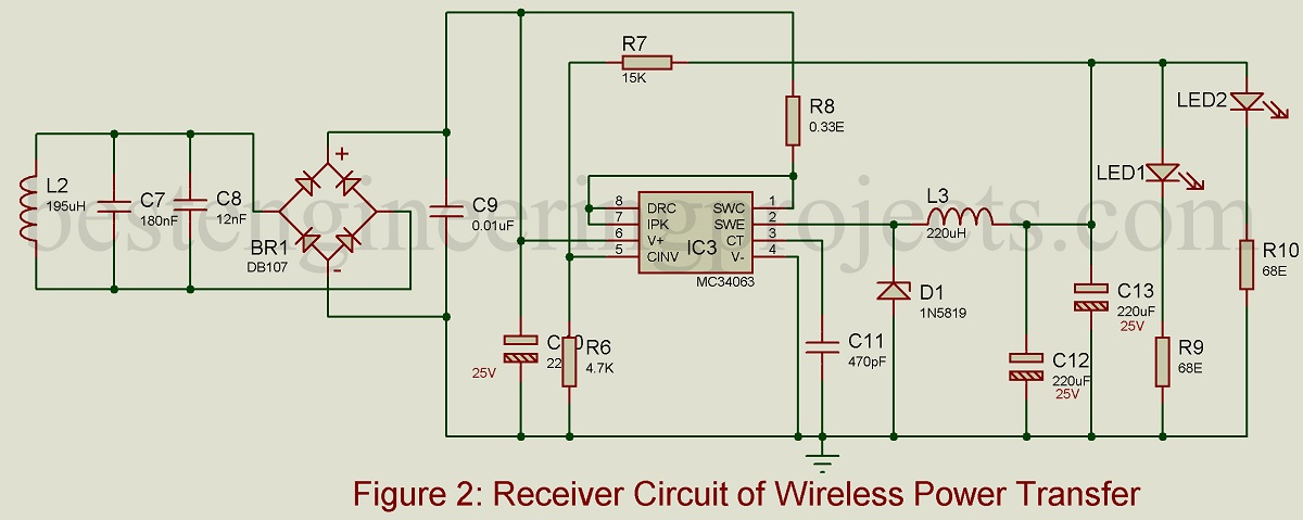 wireless power transmission circuit diagram 2006 jetta wiring mobile charger engineering projects