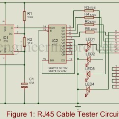 On Q Rj45 Wiring Diagram 2 Home Circuit Breaker Panel Cable Tester Best Engineering Projects