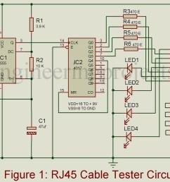 rj45 network cable tester circuit schematic data schematic diagram cable tester circuit moreover diagram of a cable tester schematic on [ 1200 x 768 Pixel ]