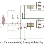 Car (Automobile) Battery Maintaining Circuit