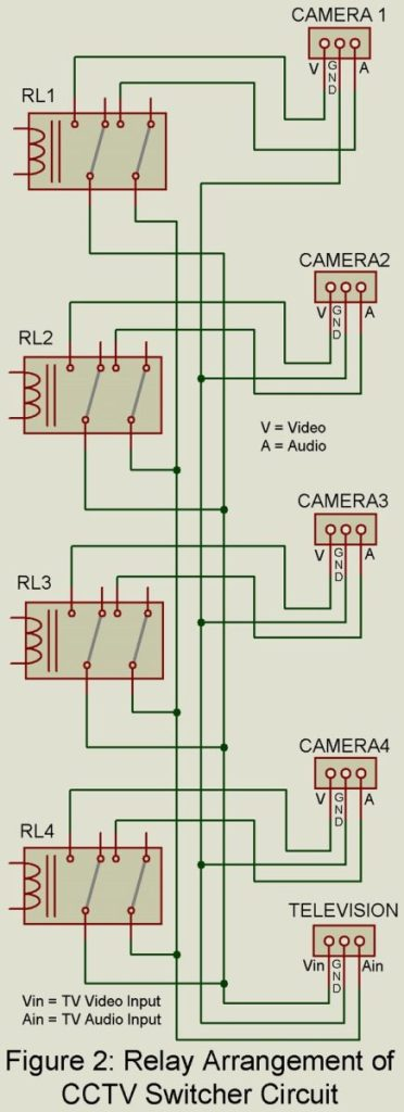 relay connection circuit
