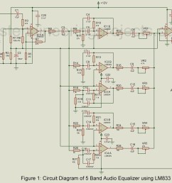 also lifier circuit diagram also 10 band graphic equalizer circuit 5 band audio equalizer circuit using [ 1200 x 1047 Pixel ]
