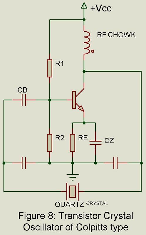 bjt crystal oscillator circuit