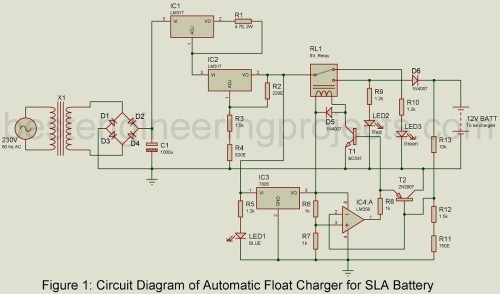 small resolution of 12v battery charger circuit with overcharge protection