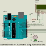 Automatic wiper for Automobile using Arduino and Rainsensor