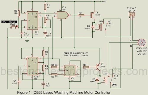small resolution of motor controller circuit for washing machine engineering projects precision motion controller circuit diagram