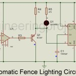 Automatic Fence Lighting with Alarm