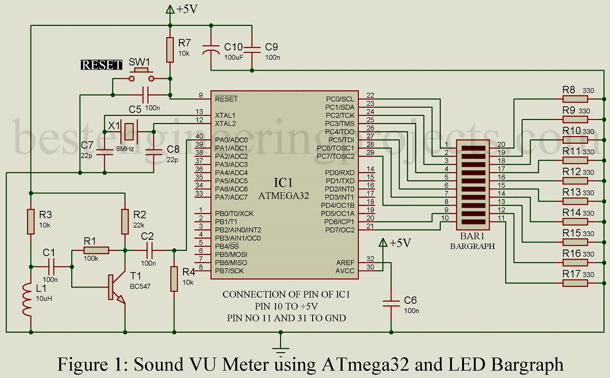 hight resolution of another transistor t1 is employed to construct a preamplifier circuit two resistors r1 and r2 are used to adjust the gain as feedback resistor and set the