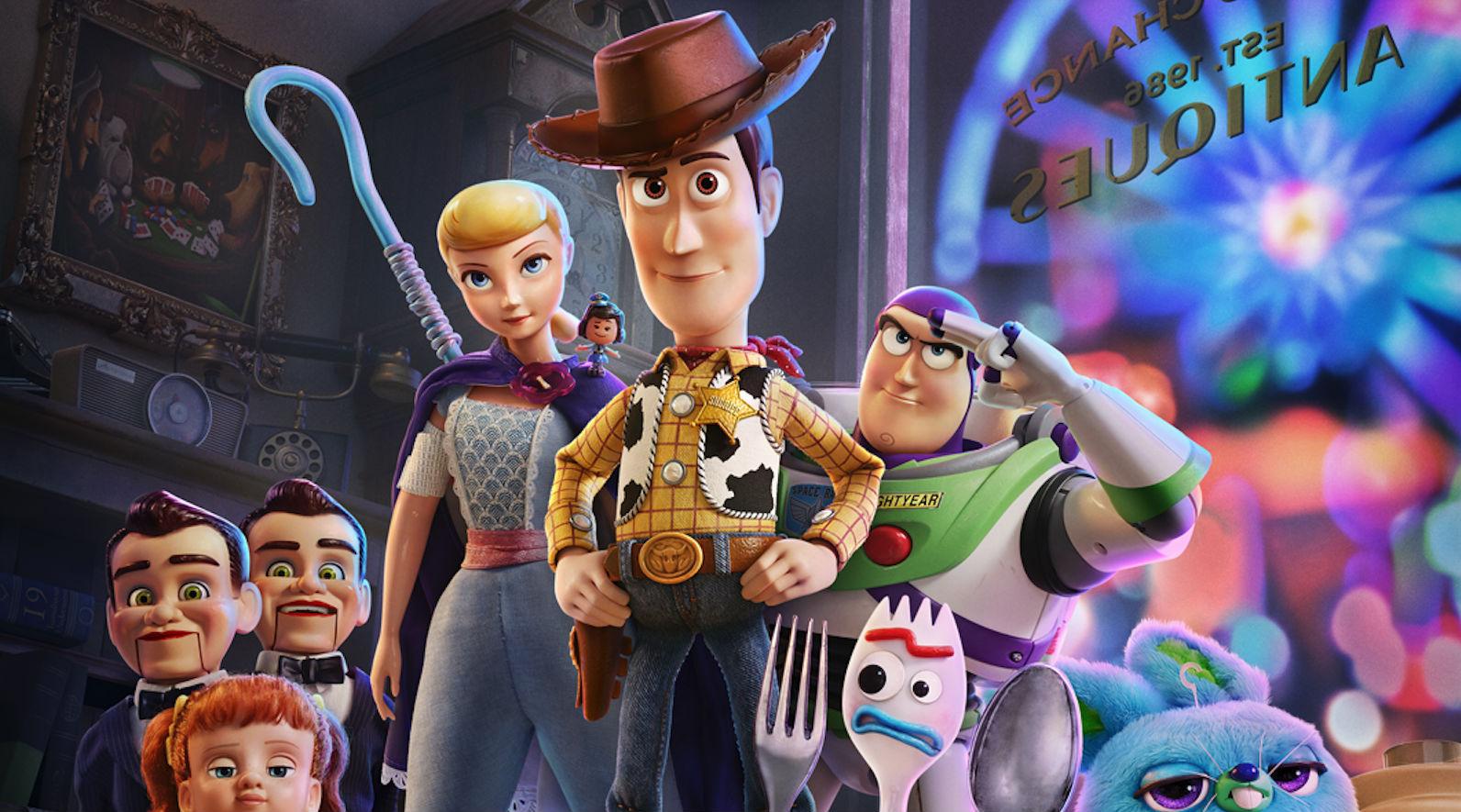 Toy Story 4, Disney/Pixar, June 21