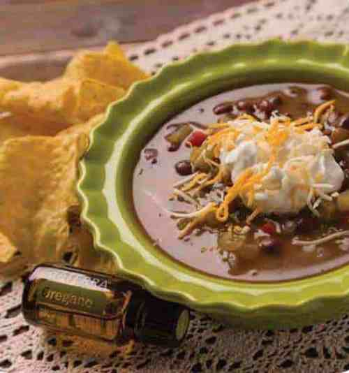 doTERRA Costa Rican Black Bean Soup Recipe