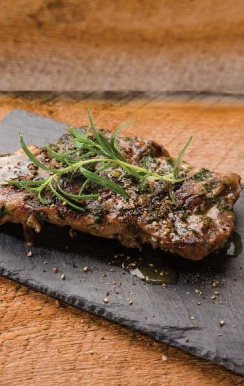doTERRA Parsley-Basil Steak with Basil Essential Oil Recipe