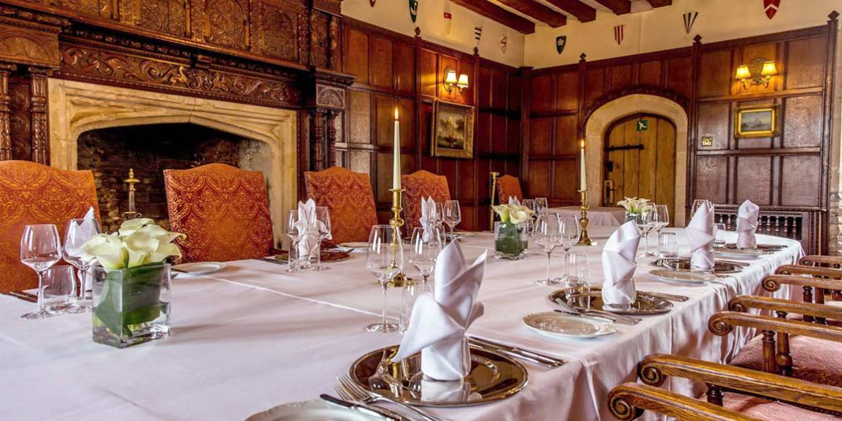 50 Birthday Party Venue, Thornbury Castle, Prestigious Venues