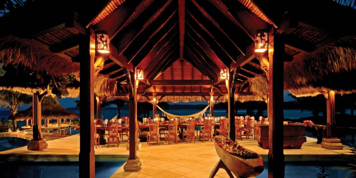 Best Private Dining Venue, Necker Island, British Virgin Islands, Caribbean, Prestigious Venues