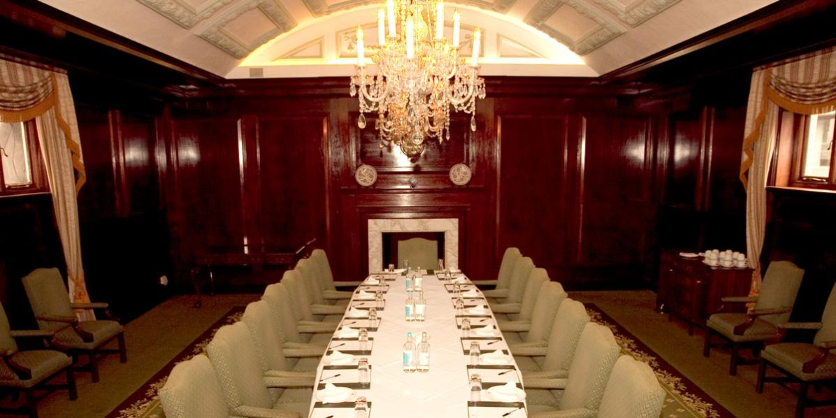 Board Room Meeting Venue Close To Bank, London Capital Club, Prestigious Venues