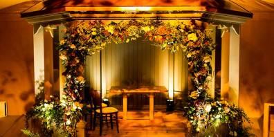 Indoor Wedding, Dormy House, Prestigious Venues