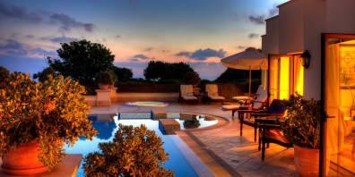Luxury Pool Villa, Aphrodite Hills Resort Cyprus, Prestigious Venues