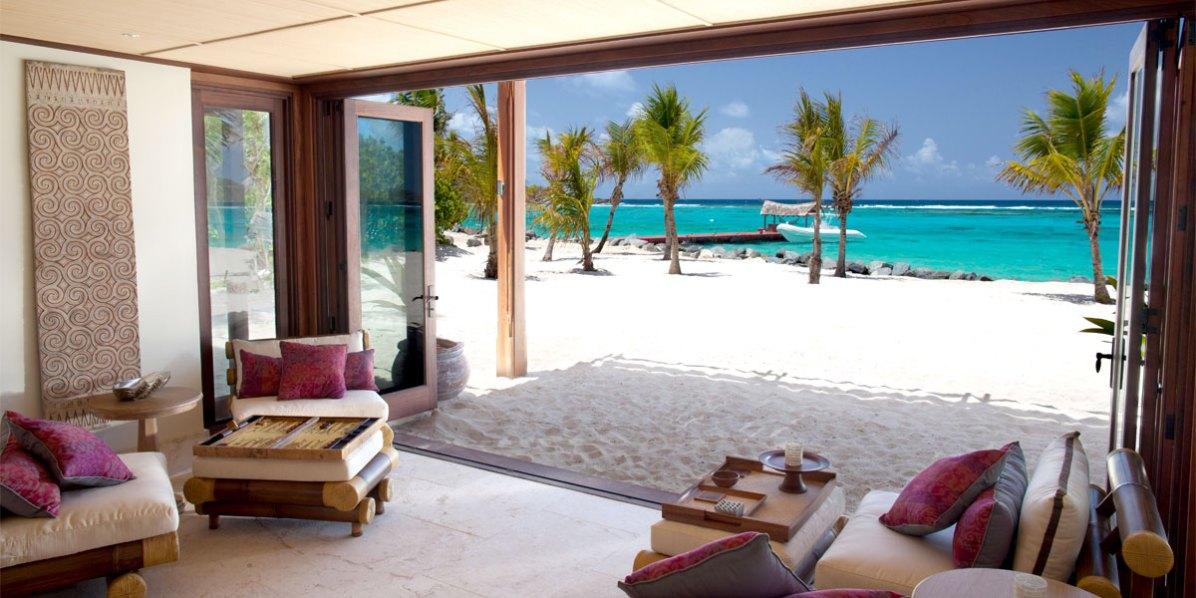 Richard Branson Island, Necker Island, British Virgin Islands, Caribbean, Prestigious Venues