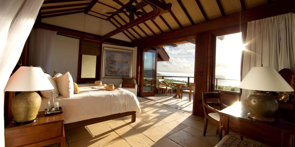 Room With a View, Great House Room 7 - 15, Necker Island, British Virgin Islands, Caribbean, Prestigious Venues