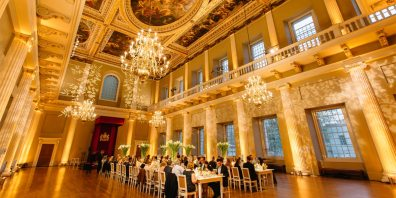 Private Dining Event, Banqueting House, Prestigious Venues